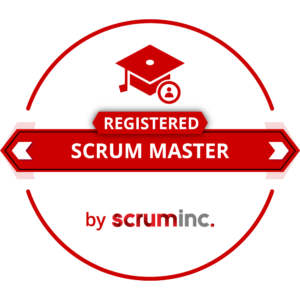 Scrum Inc. Scrum Master badge